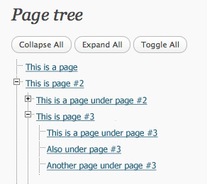 Page Tree View