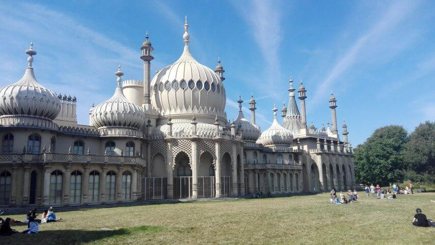 Sorpresa, la India en Brighton