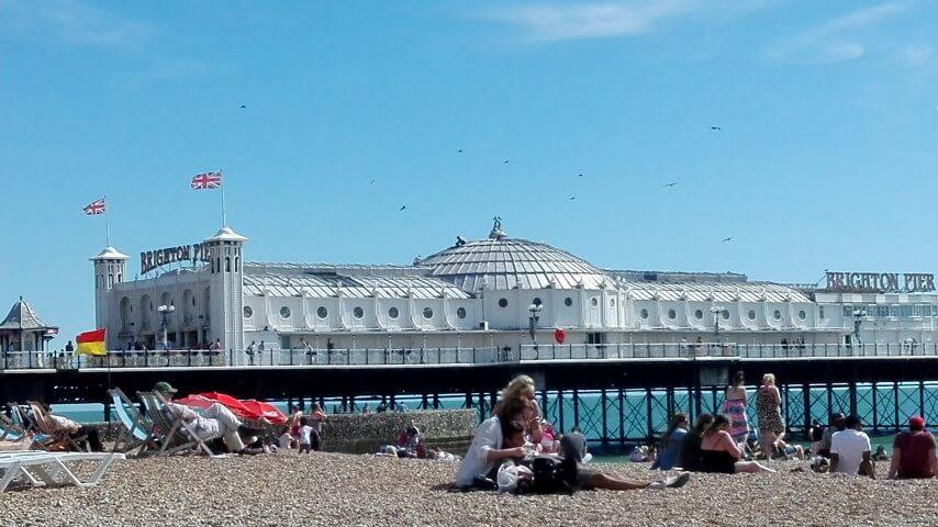 Muelle de Brighton, muy bonito si hace sol
